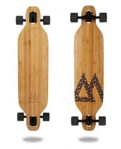 Magneto Longboards Bamboo Longboards for college campus