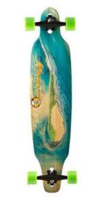 Sector 9 Blue Wave Lookout dropthrough Complete Longboard Skateboard,