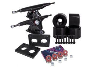 Cal 7 180mm Trucks with Wheels, Bearings, Hardware