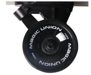 MAGIC UNION 41 Inch Maple Drop Down Longboard wheels