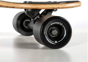 Magneto Slot Machine Longboard Skateboard wheel