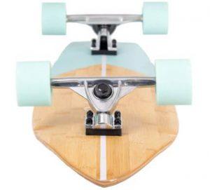 Retrospec Zed Bamboo Longboard Skateboard construction