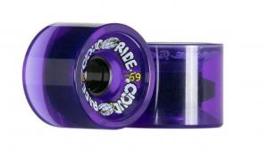 Cloud Ride Wheels Cruiser 69mm 78A Urethane Longboard Wheel Set