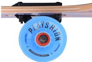 Playshion Freeride Freestyle Drop Through Longboard wheels