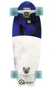 Quest Fishtail Cruiser Board Skateboard (27-Inch)