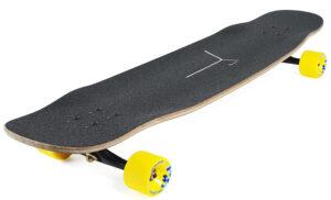 Loaded Boards Tesseract Bamboo Longboard Skateboard Complete