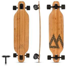 Magneto Bamboo Carbon Fiber Longboards Skateboards