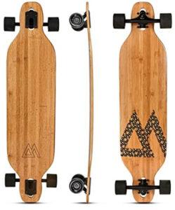 Magneto Bamboo Carbon Fiber Longboards